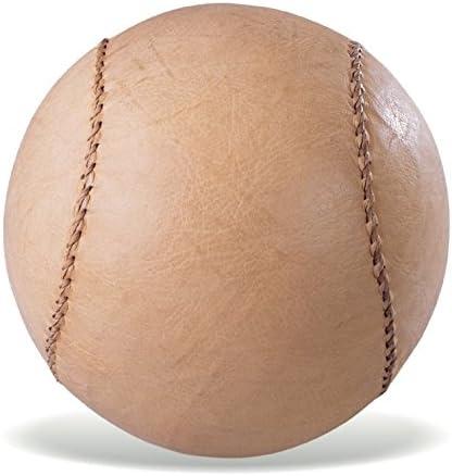 Vinex Balón Medicinal de Cuero pequeño y sólido - 1 kg - 13 cm ...