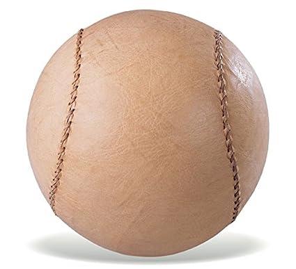 Vinex Balón Medicinal de Cuero pequeño y sólido - 6 kg - 19 cm ...
