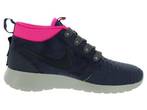 Nike Mænds Roshe Run SneakerStøvler Løbesko Gitternet / Drk Obsdn-pnk Fl-volt F6mYcbw8