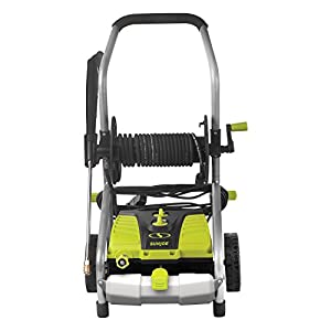 Sun Joe SPX4001 2030 PSI 1.76 GPM 14.5 Amp Electric Pressure Washer w/Pressure Select Technology & Hose Reel