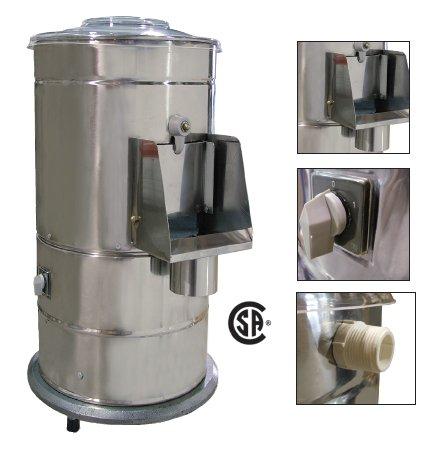 - Omcan 13443 Commercial DB10 Potato Peeler