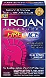 Condom: Trojan Pleasures Fire & Ice 10 pack