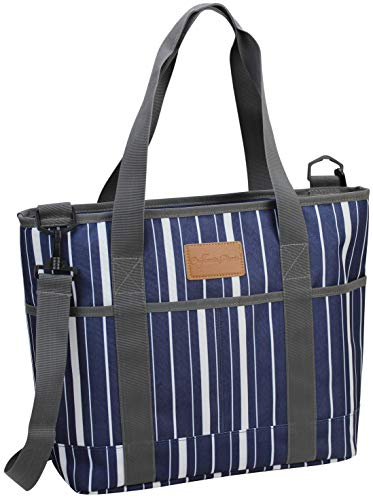 Insulated Tote Bag Picnic Insulated Lunch Bag Carrier Excellent Insulated Cooler Zipper Tote Bag for Women Men Travel and Snack Bag Yoga Mat Bags Corporate Gifts Thermal Beach Market Tote