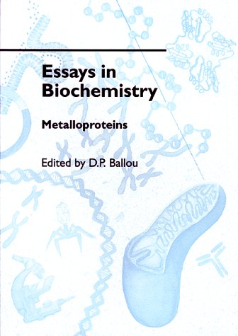 essays biochemistry volume 48 View and download biochemistry essays examples also discover topics, titles, outlines, thesis statements, and conclusions for your biochemistry  volume 2.