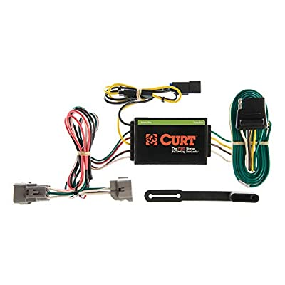CURT 55260 Vehicle-Side Custom 4-Pin Trailer Wiring Harness for Select Jeep Grand Cherokee: Automotive