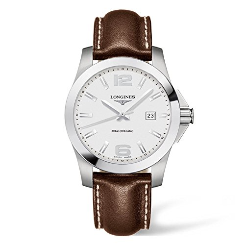 Longines L37594765 mens quartz watch (Band Wrist Longines Watch)