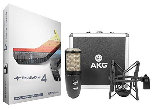 Price comparison product image Presonus Studio One 4 Pro Upgrade from Artist / Producer+AKG Mic+ShockMount+Case
