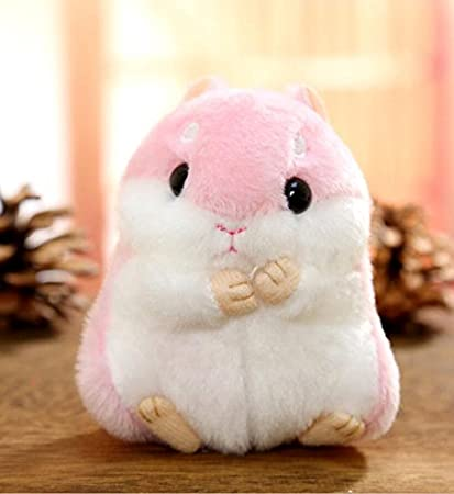 Easyflower Cute Soft Toy 10cm Height Kids Creative Durable Toys Soft Plush Hamster Animal Toys Doll