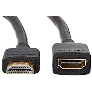 AmazonBasics 3 Feet High Speed HDMI Male to Female 2.0 Extension Cable