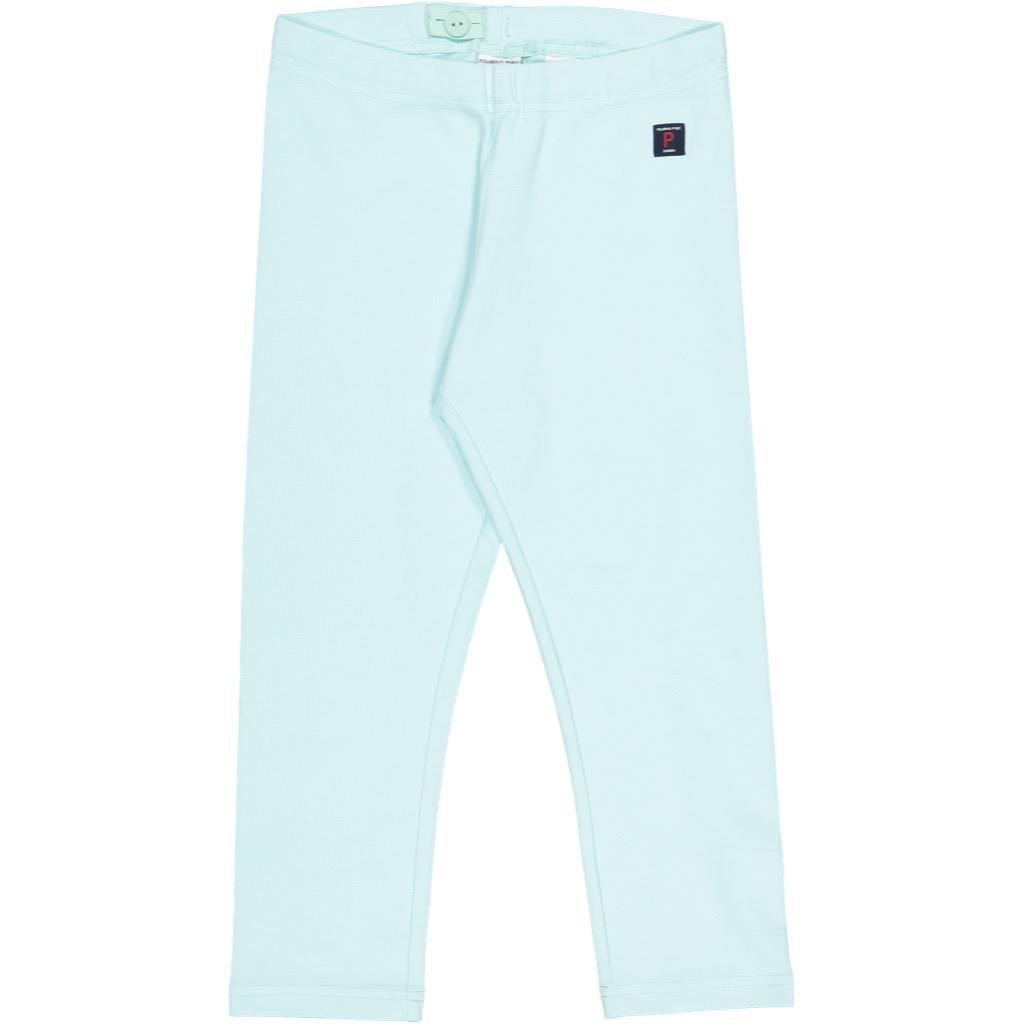 Polarn O. Pyret Eco Crop Leggings (6-12YRS) - 10-12 Years/Blue Tint