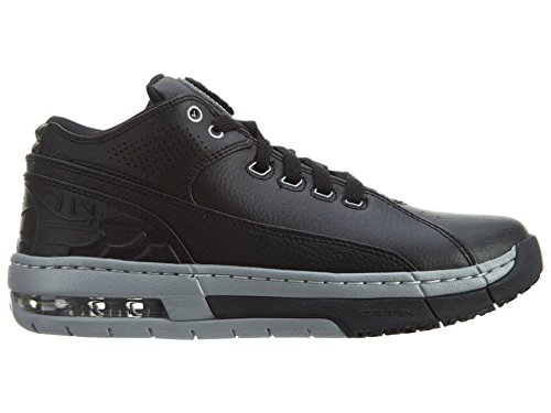 Jordan Women's Ol School Low Big Kids Style, Black/Metallic Silver, 6 (Ladies Tennis Shoes Jordans)