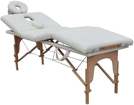 Lettino Massaggio Portatile Leggero.Lettino Da Massaggio 4 Zone Delux 8 Cm Imbottitura Doppio Strato