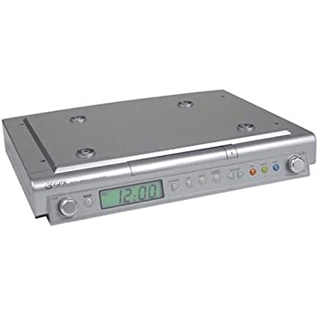 Amazon.com: GPX KCCD3004DP Under-Cabinet CD Player with AM/FM ...