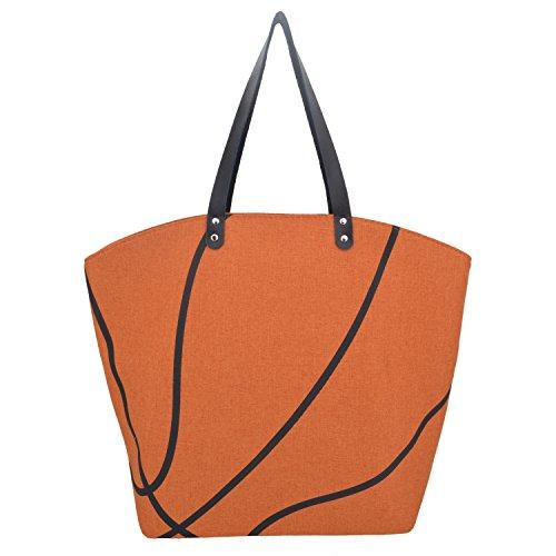 Ouvin Bolso de tela para mujer Basketball