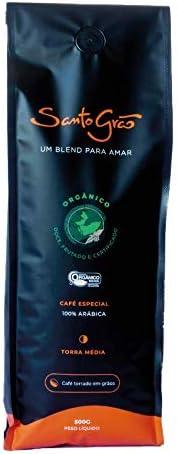 Café, Santo Grão, Orgânico, Moído, 500g: Amazon.com.br: Alimentos e Bebidas