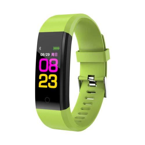 FidgetFidget Smart Watch Wristwatch Health Monitor Green for Samsung A3/A5/A7/A8