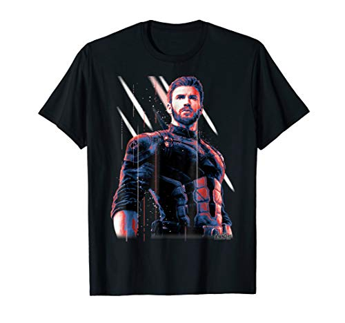 Marvel Infinity War Captain America Pose Graphic T-Shirt