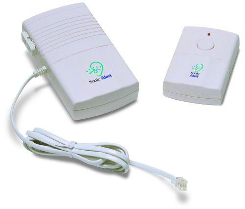 Sonic Alert DB200 Deluxe Wireless Doorbell with Lamp Flash and Telephone Signaler for the Deaf and Hard of Hearing  Individuals
