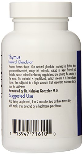 Allergy Research Group - Thymus 1000 mg 75 caps by Allergy Research Group (Image #2)