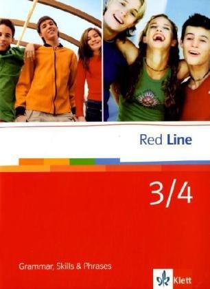 Red Line 3/4: Grammar, Skills and Phrases Klasse 7/8 (Red Line. Ausgabe ab 2006)
