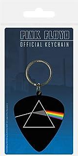 4.5 x 6 cm Multi-Colour Pyramid International Cannabis Leaf Rubber Keychain