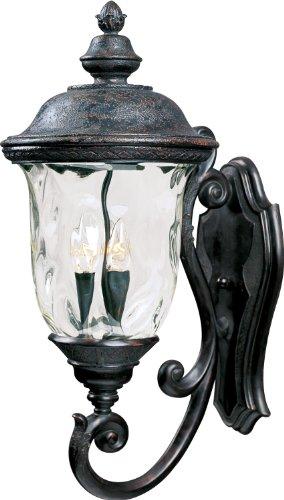 Maxim Lighting 40424WGOB Mount Carriage House VX 3-Light Outdoor Wall Lantern