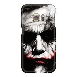 Excellent Hard Phone Case For Samsung Galaxy S6 (BCZ2079FpAC) Allow Personal Design Colorful Joker Dark Series