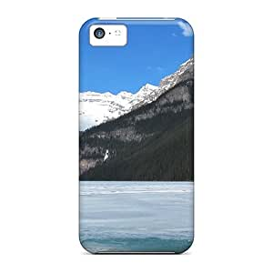 NQQ26594bqbt Snap On Cases Covers Skin For Iphone 5c(lake Louise In May)