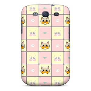 New Kitty Kitty Tpu Case Cover, Anti-scratch SSgLXRh6601KNvEF Phone Case For Galaxy S3 by supermalls
