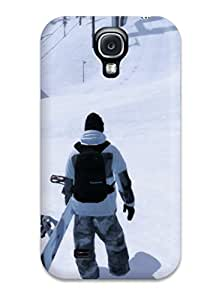 Hot PJEtKfX11023nlpMY Shaun White Snowboarding Tpu Case Cover Compatible With Galaxy S4