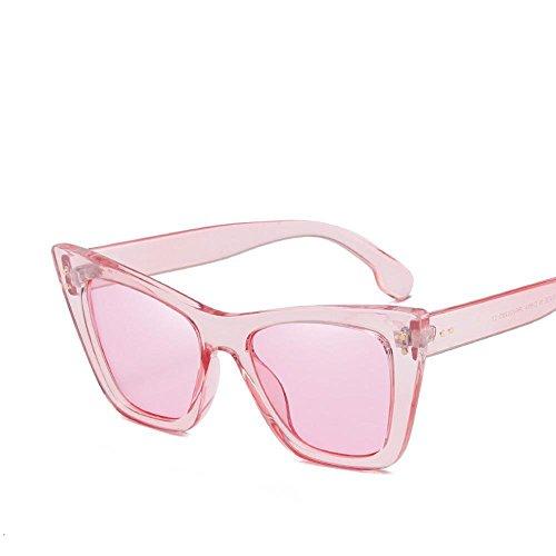 Aoligei L'Europe et la tendance des États-Unis du double-mètre nails lunettes de personnalité en général masculins et féminins Lunettes de soleil MUHWAP