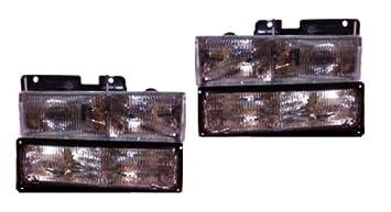 88-98 Chevy Silverado/gmc Sierra Headlight Combo Gm2503101