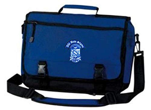 Greekgear Phi Beta Sigma Briefcase Blue