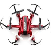 JJRC H20 RC Quadcopter 2.4G 4Ch 6-Axis Gyro Nano Hexacopter Drone CF RTF Mini(red)
