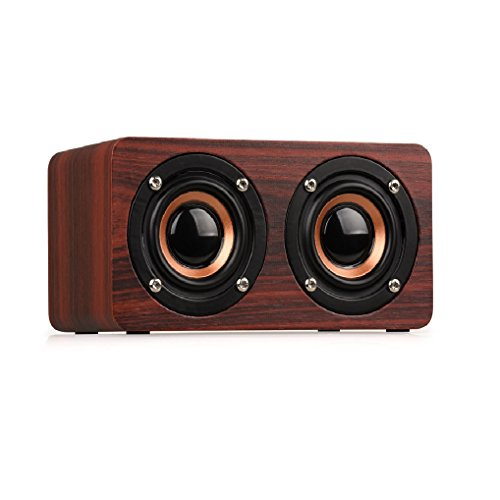 Ultra Bass Portable Bluetooth Dual Speakers (Red) Set Of 4 - 3