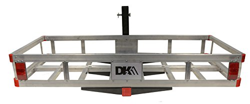 Detail K2 HCC502A Aluminum Hitch Mounted Cargo Carrier ()