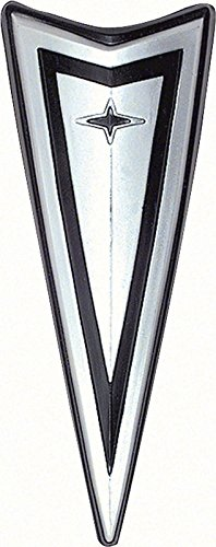 Front Bumper Emblem - Arrowhead Logo - 67-68 Firebird