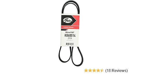 Gates K060900 Multi V-Groove Belt