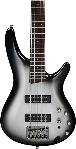 Ibanez SR305E MSS 5 String Electric Bass Metallic Silver Sunburst