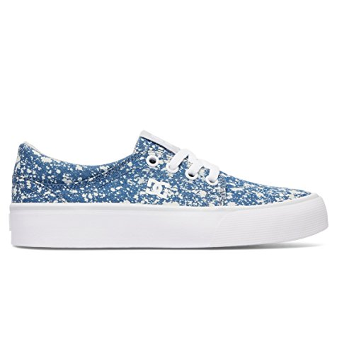 DC Shoes Girls Shoes Trase Tx Se - Shoes - Girls 8-16 - US 10.5 - Blue Denim US 10.5 / UK 9.5 / EU 27.5