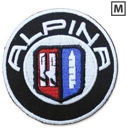 ALPINA LOGO 7,6 CM Thermocollant Autocollant de Patch Broderies /Écusson Brod/é Patch