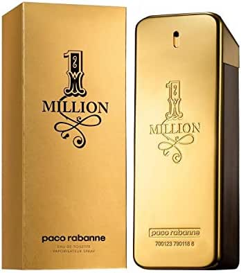 Paco Rabanne 1 ONE MILLION EDT 100ml 3.4oz Eau de Toilette Men NEW SEALED BOX