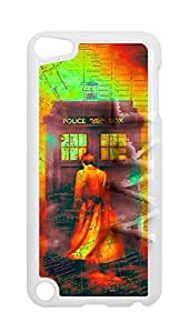 Hipster Custom { Doctor Who Case For iPod 5 Case Cover } Hard Shell Tardis White Case - AArt (iPod 5th Generation Manhattan Map Doctor who)