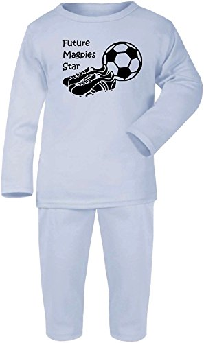 Gorro de punto con-con fantasmas Designs juego de NEWCASTLE UNITED pijama de balón de