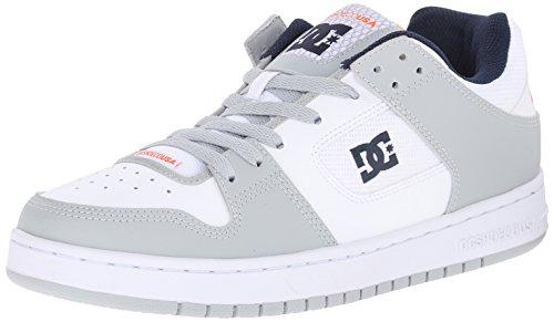 DC hombres Manteca Skate zapatos, gris, 10 M US