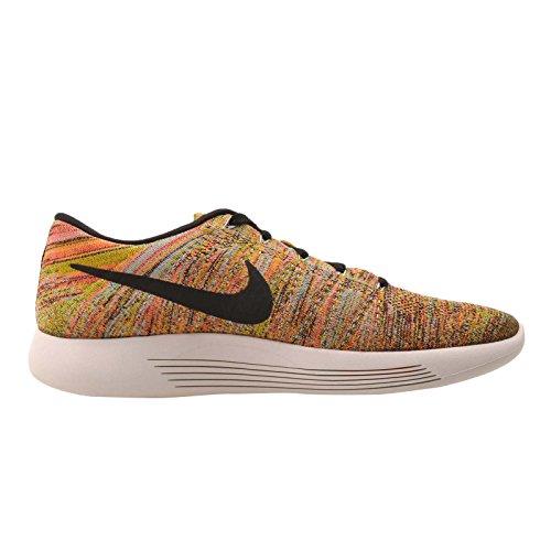 Nike Lunarepic Low Flyknit Hommes Chaussures De Course Hyper Orange