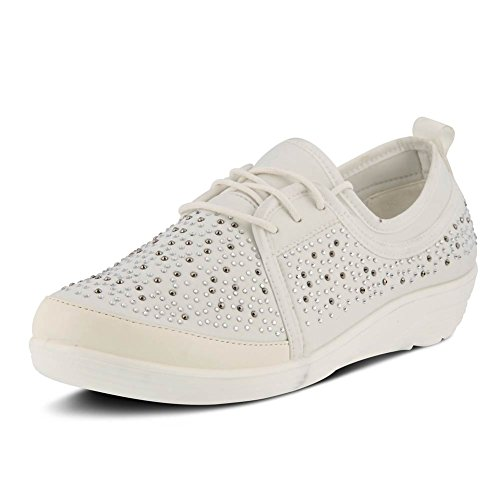 Spring Step Womens Tinty Shoe White