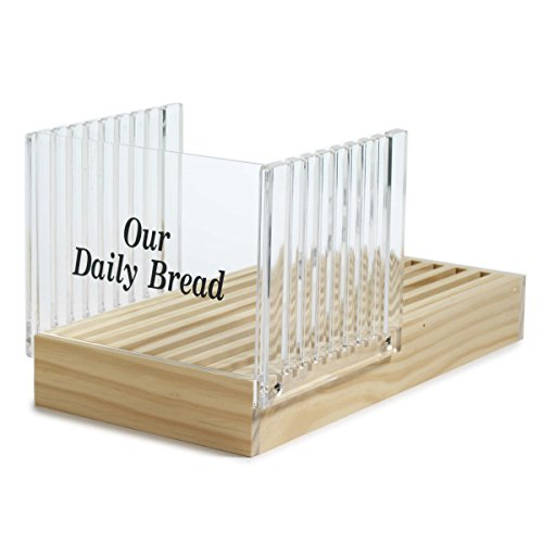- Norpro Bread Slicer with Crumb Catcher