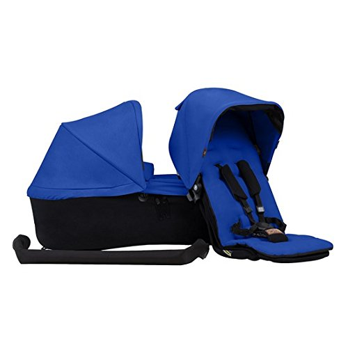 Reversible Single Stroller Liner - Mountain Buggy Duet 3.0 Family Pack in Marine