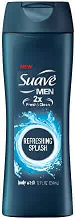 Suave Men Body Wash, Refreshing, 12 Fl Oz